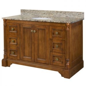 48 inch Bathroom Furniture Vanity – Lily Collection
