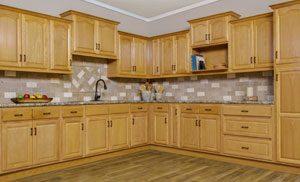Appalachian Oak Kitchen Cabinets