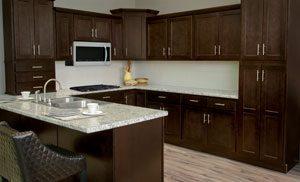 Shaker Espresso Kitchen Cabinets