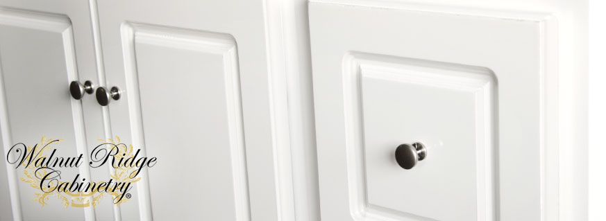 Glossy White Bathroom Vanity Page Header