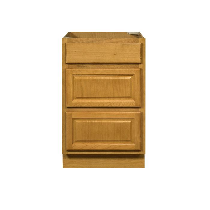 3 Drawer Base Cabinet Alachian Oak Db21