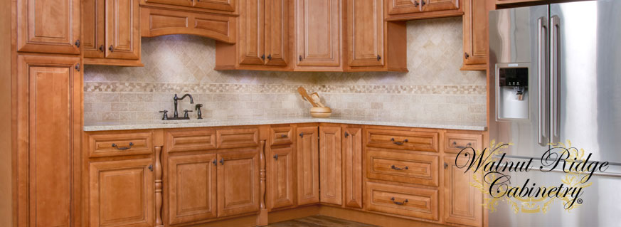 Savannah Sienna Glaze Kitchen Cabinets Page Header