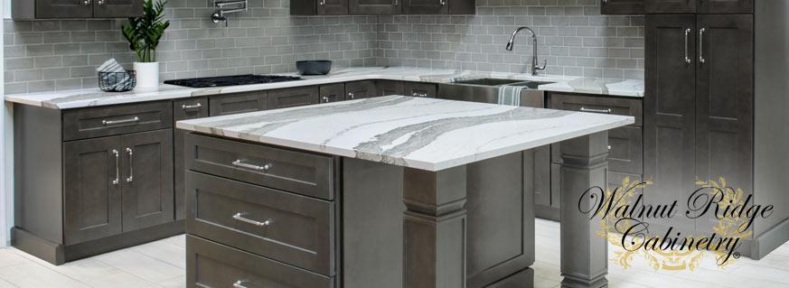 Shaker Gray Kitchen Cabinets