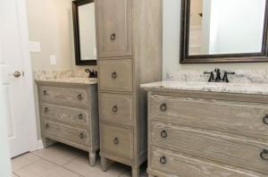 Ann Furniture Vanities and Linen Cabinet