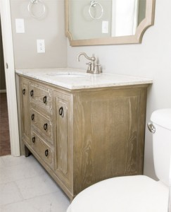 Ann Furniture Vanity and Mirror