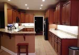 Charleston Coffee Glaze Kitchen Cabinets