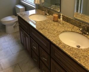 Charleston Coffee Glaze Bathroom Vanity