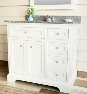 Jennifer Furniture Vanity and Mirror