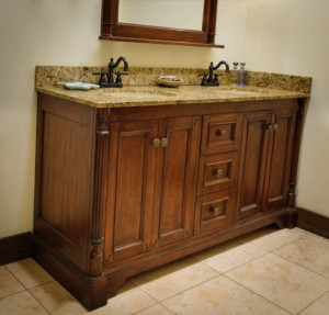 Lily Furniture Vanity and Mirror