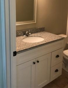 Shaker White Bathroom Vanity